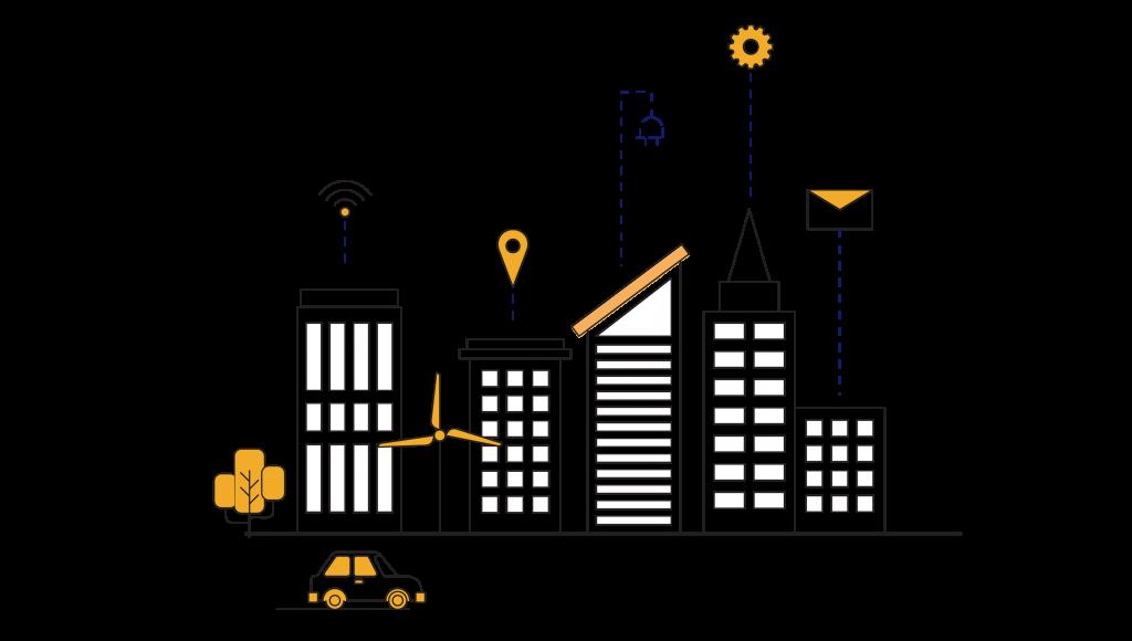 استفاده اینترنت اشیا در شهرهای هوشمند